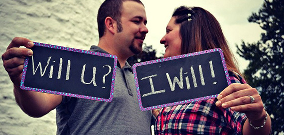 We hope to wed April 13