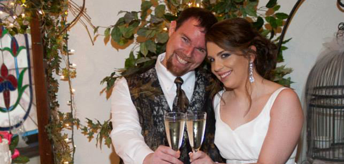 "Megan & Justin: ""I thank God for sending us to one another!"""